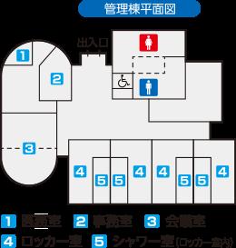 管理棟平面圖